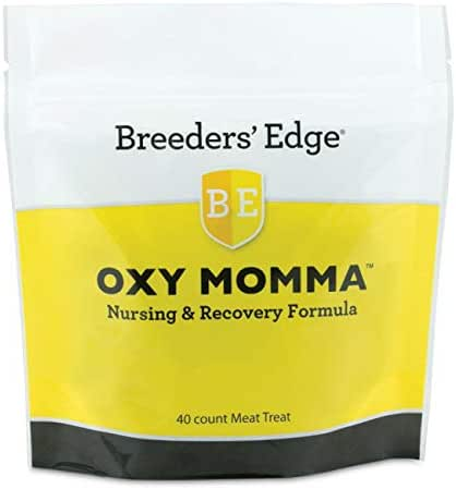 Revival Animal Health Breeders' Edge Oxy Momma- Nursing & Recovery Supplement- 40ct Meat Treats