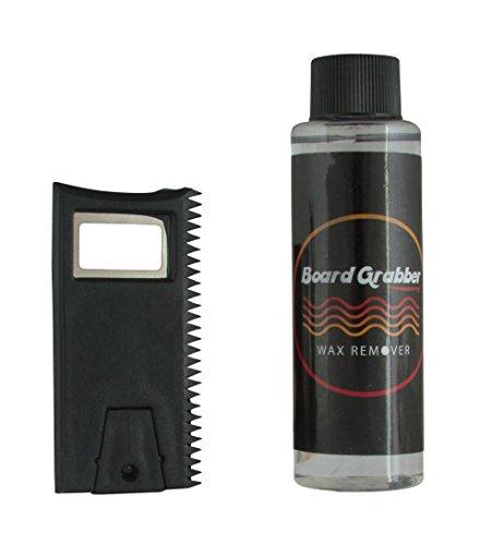 Board Grabber Wax Liquid Remover and Comb with Scraper by Board Grabber