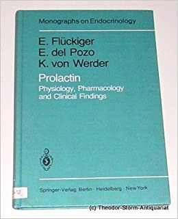 Prolactin: Physiology, Pharmacology and Clinical Findings (Monographs on Endocrinology)