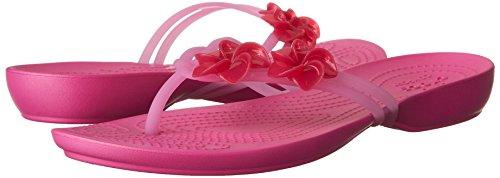fiesta Mujer rosa crocs para Sandalia rosa Sandalias Crocsisabella caramelo 1q0HRTn