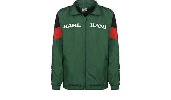 Karl Kani Retro Chaqueta de deporte green/red/black: Amazon.es: Ropa y accesorios