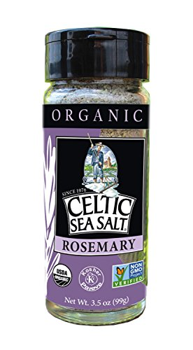 Celtic Sea Salt, Sea Salt Rosemary Organic, 3.5 Ounce ()