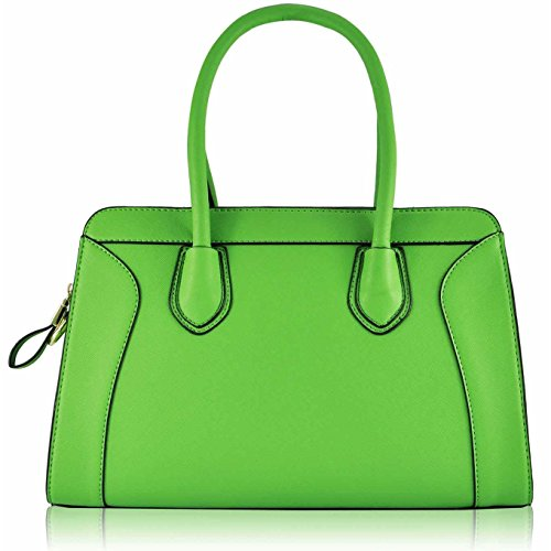 Trend Star Mujeres diseñador hombro Bolsos Mujer berühmtheit estilo piel sintética Tragetaschen CD - Green