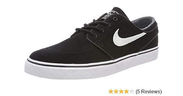 e89f02a695836 Nike SB Air Zoom Stefan Janoski OG Black White Gum Light Brown Skate  Shoes-Men 11.0