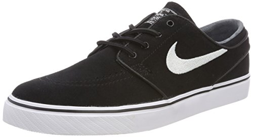 (Nike SB Air Zoom Stefan Janoski OG Black/White/Gum/Light Brown Skate Shoes-Men 11.0, Women 12.5)