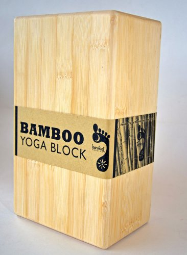 Barefoot Yoga Eco-Friendly Bamboo Yoga Block