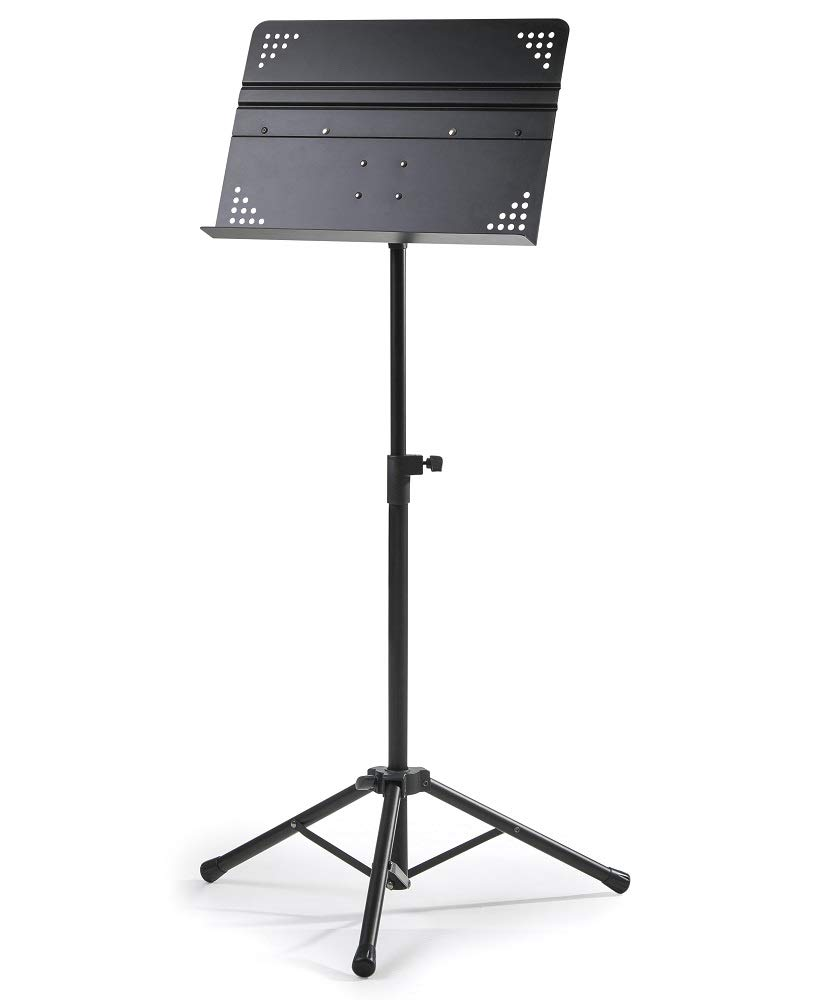 Crafty Gizmos Deluxe Adjustable Folding Music Stand with Carrying Bag Black Renewed