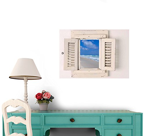 Little Window Peel and Stick Wall Decal - 30 Inches W x 21 Inches H