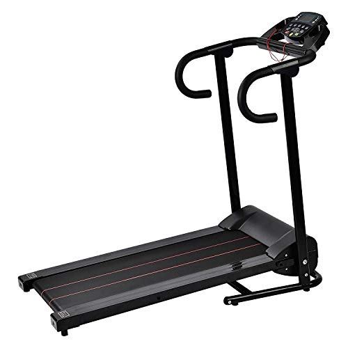 Easy Home Exercise Equipment: Murtisol Folding Treadmill Electric 1100W Walking Running
