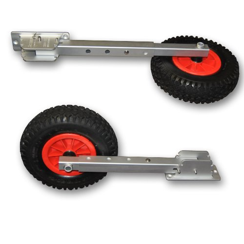 Seamax Deluxe 4 by 4 Boat Launching Dolly with 12