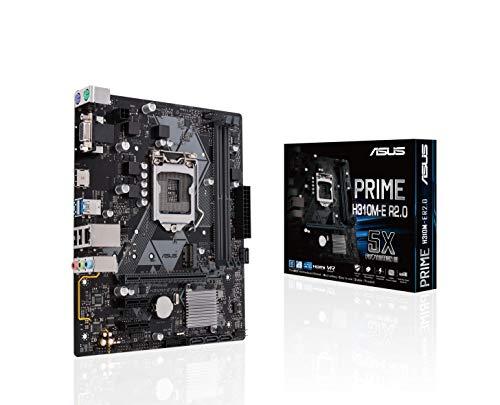 ASUS Intel 8th Gen DDR4 HDMI VGA Micro ATX Motherboards (Prime H310M-E R2.0)