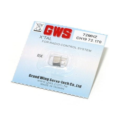 FM Micro Receiver Crystal 72.17 by Grand Wing (Gws Micro Receiver Crystal)