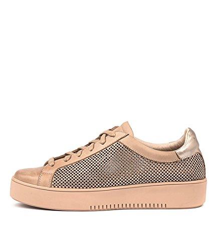 DJANGO & JULIETTE Lions Flesh Womens Sneakers Casuals Shoes FLESH MULTI