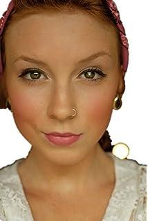 Various Sizes Vault 101 Limited GOLDFAKE3 Lip or Body Parts Nose Fake Piercing Ring Gold
