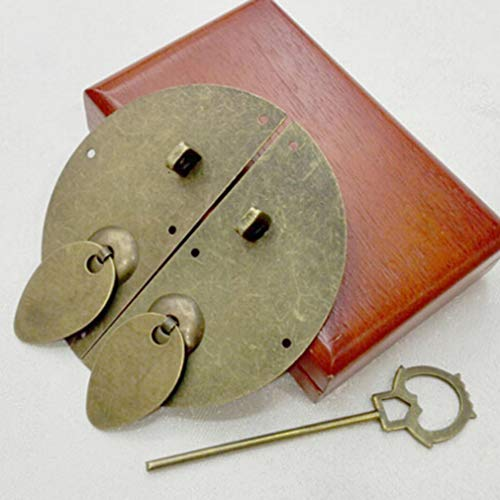 DearAnswer Vintage Round Furniture Handle Door Knocking Knocker Pull Lock Catch Home Supplies by DearAnswer (Image #4)