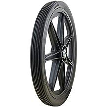 "Marathon 20x2.0"" Flat Free Cart Tire on Plastic Rim, 3/4"" Bearing"