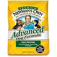 Newman's Own Advanced Dog Formula for Active or Senior Dogs, 12.5-Pound Bag