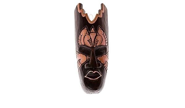 30cm Madera Maske Mascara Careta caratula Esculture Handarbeit Esculpir HM3000032: Amazon.es: Hogar
