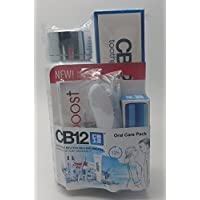 CB12 Oral Care Pack, 250ml White Mouthwash, 100ml Toothpaste, 10PC Chewing Gum, Toothbrush