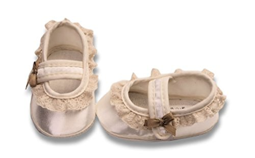 Zapatos festivas para bautizo o una boda - zapatos de bautizo para niñas, bebés TP26 tamaño 17
