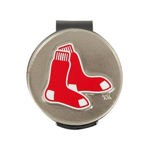 MLB Boston Red Sox A01534 Clamshell Hat Clip with 2 (College Golf Cap Hat Clip)