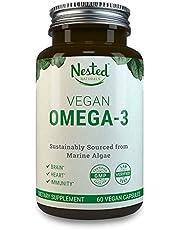 Nested Naturals Vegan Omega 3 Better Than Fish Oil 60 Caps