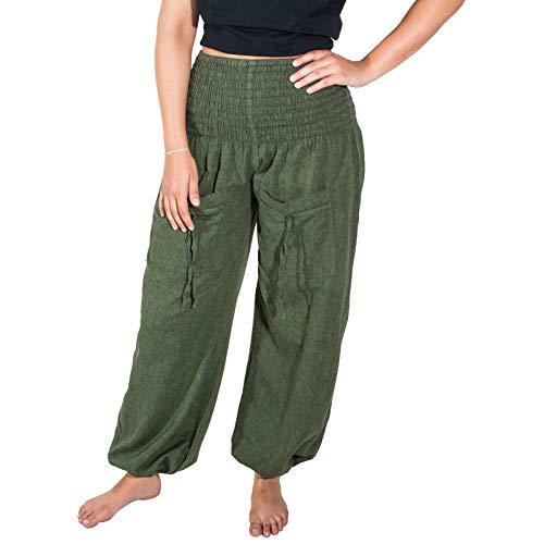 Kunst und Magie - Pantaloni - harem - Donna Army Green