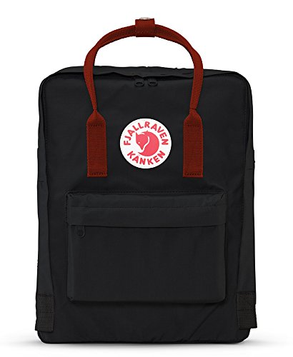 "Fjallraven - Kanken Classic Backpack for Everyday 1 <p>Kanken is made out of durable, lightweight Vinylon F. The roomy main compartment with a large opening makes it easy to put in and take out items. Features two side pockets and a zippered pocket in the front. With a handle at the top, narrow, supple shoulder straps, sitting pad in the pocket in the back, and logo that doubles as a reflector, the Kanken Classic is your go-to backpack. ICONIC: Same classic Kanken design since 1978. Stash everyday essentials in the main zippered compartment, front zippered pocket, and two open side pockets. PRACTICAL: Meet the material: Vinylon F. It has a weird name but it's dirt-resistant, water-resistant, and wipes clean. FUNCTIONAL: Two-way zipper with rain flap for protection. Ergonomic shoulder straps for the long haul. Dual top snap handles for quick carry. Sitting pad for impromptu seating. Reflective logo. ROOMY: 16 L of storage space for everything you need and some things you don't. Measures 14.9"" (38 cm) x 10.6"" (27 cm) x 5.1"" (13 cm). Weighs 0.7 lb. HERITAGE: Durable, timeless, functional. Since 1960.</p>"