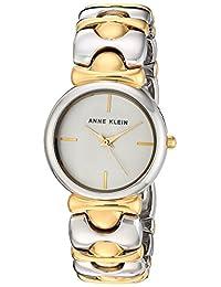 Anne Klein Women's AK/2635SVTT Analog Display Japanese Quartz Two Tone Watch