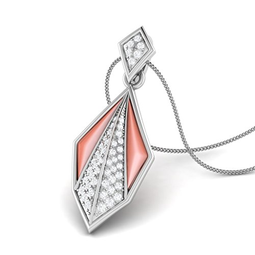 925 Sterling Silver Exótico Shell Love Natural Shell Pendant by Facets (Exotica Pendant)