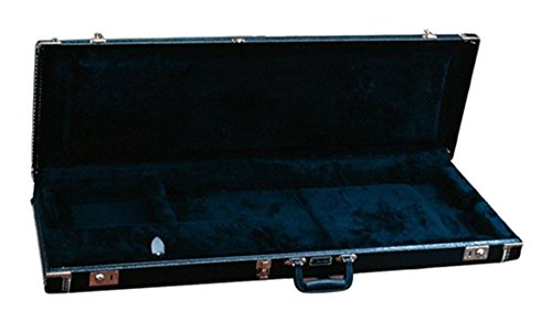 Fender Mustang Bass Guitar Case Black Black ()