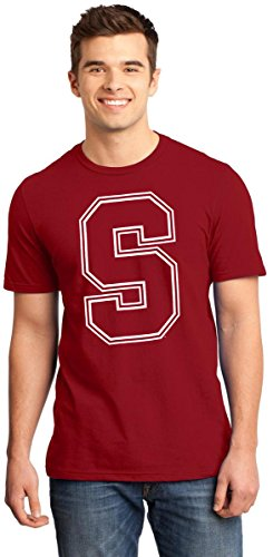 Price comparison product image AFC Men's Stanford University Cardinals Short Sleeve T-Shirts (2XL,  SU1 Cardinal Red)
