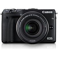 Canon EOS M3 EF-M 18-55 is STM KIT (Black)