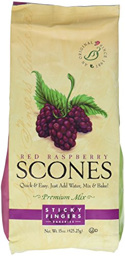 Sticky Fingers Mix Red Raspberry English Scone Mix - Mix Raspberry Scone