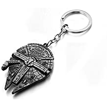 REINDEAR Movie Star Wars Spaceship Alloy Pendant Keychain US Seller