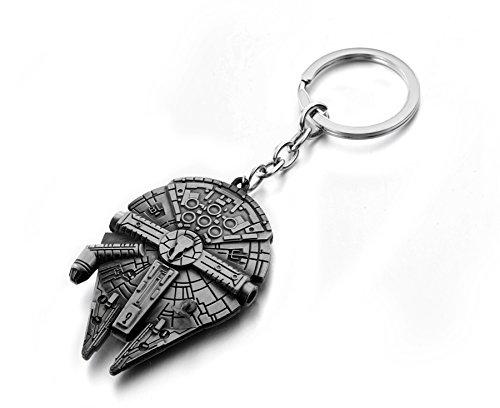 REINDEAR Movie Star Wars Spaceship Alloy Pendant Keychain US Seller (Millennium Falcon)