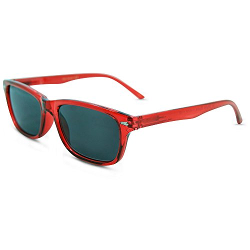 (In Style Eyes Seymore Retro Reading Sunglasses, NOT Bifocals Red 2.25)