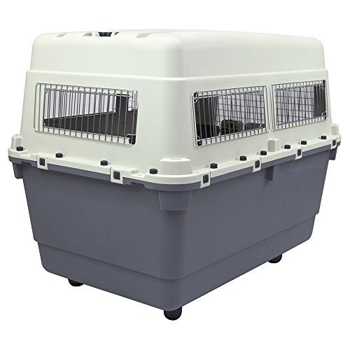 Plastic Kennels Rolling Plastic Airline Approved Wire Door