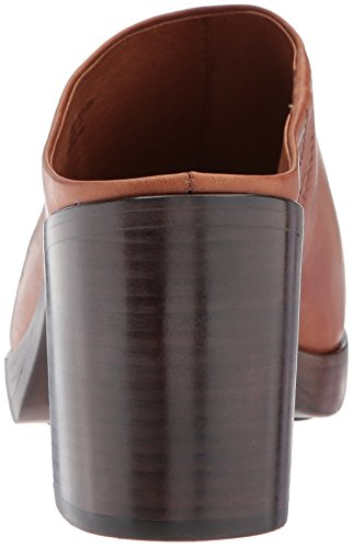 Frye Womens Joan Campus Mule Redwood Smooth Antique Pull Up
