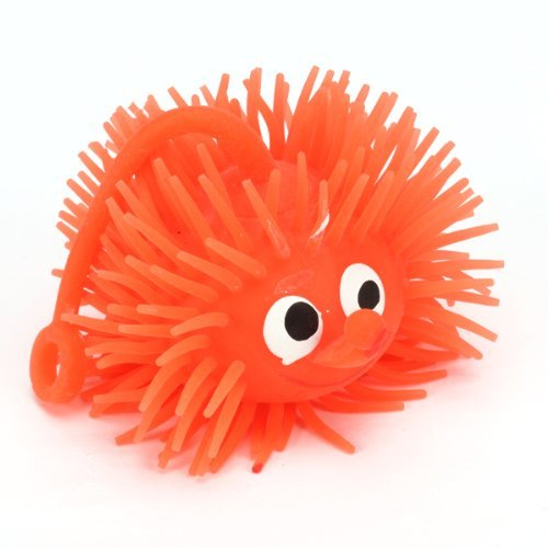 Stress Reliever Ball - TOOGOO(R)Soft Flashing Puffer Ball Captious Ball Stress - Flashing Puffer