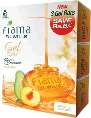 Fiama Di Wills Mild Dew Gel Bar - Pack of 3 by Fiama Di Wills