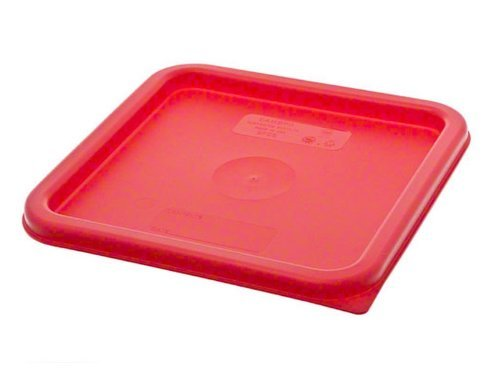 Cambro Medium Polyethylene Square Lids, fits 6 and 8 qt. containers, Pack of 6 by Cambro (Image #2)