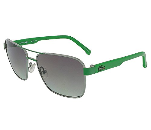 2f1e47e14008 Lacoste L3105S 315 Light Green/Green Aviator - Sunglasses Lacoste Green