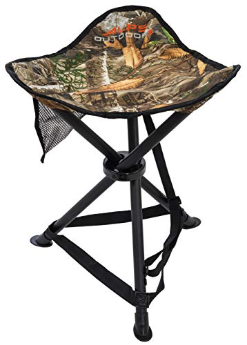 ALPS OutdoorZ Tri-Leg Stool, Realtree ()