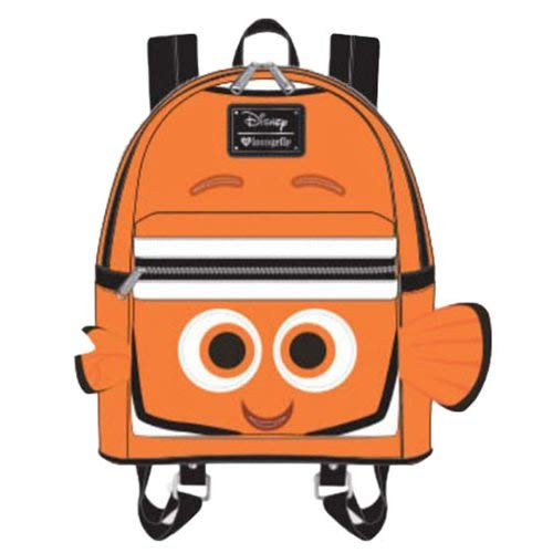2868af7d81b Loungefly X Disney Pixar Finding Nemo Mini Backpack  Amazon.co.uk  Shoes    Bags