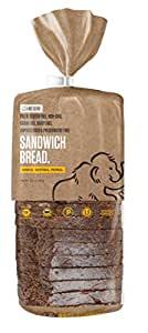 Paleo Bread, 100% Gluten Free Certified, 18 Slices Per Loaf, 5g Protein Per Slice, Grain Free and Perfect for Sandwiches, Crafted by Base Culture (1 Count)