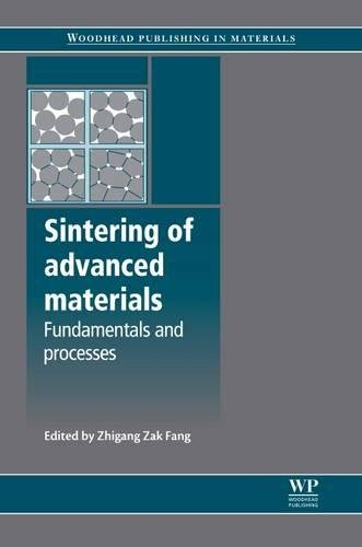Sintering of Advanced Materials (Woodhead Publishing Series in Metals and Surface Engineering)