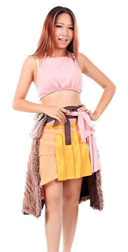 Final Fantasy 13-3 Costumes (De-Cos Final Fantasy XIII Cosplay Costume Oerba Dia Vanille Outfit Set)