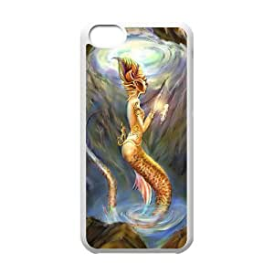 C-Y-F-CASE DIY The Little Mermaid Pattern Phone Case For phone Iphone 5C hjbrhga1544
