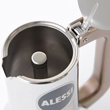 Alessi 9090/1 - Cafetera Italiana de Acero Inoxidable Brillo 18/10 ...
